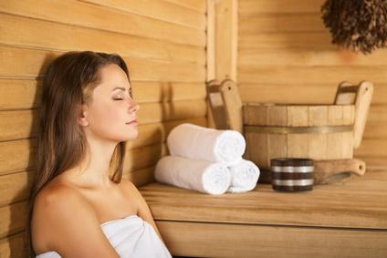 Sauna und Gürtelrose