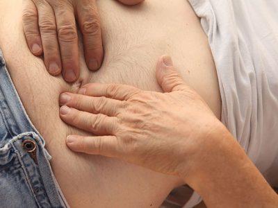Magenschmerzen während der Gürtelrose -