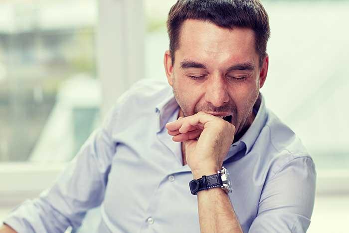 Schlaflosigkeit bei Gürtelrose