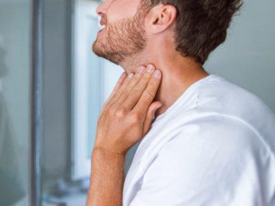 Gürtelrose beim Mann